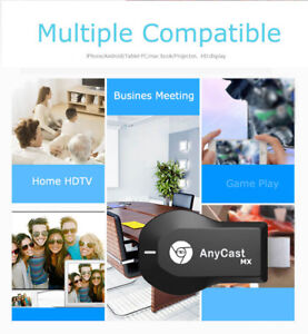 Details about 1080P HD Screen Mirror Cast AnyCast for IOS iPhone 8  X/Windows/Android TV Stick