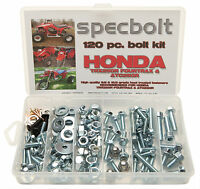 120pc Bolt Kit Honda Trx250r Fourtrax 250r Fenders Plastic Body Engine Frame Atc