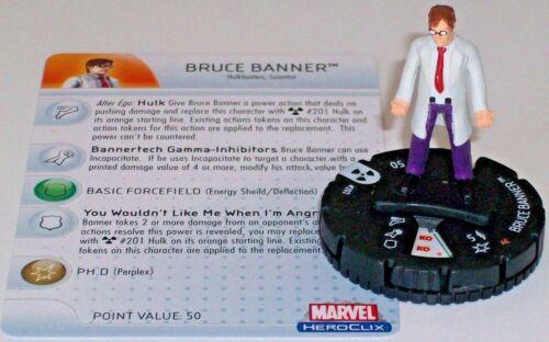 BRUCE BANNER #202 The Incredible Hulk HeroClix Gravity Feed