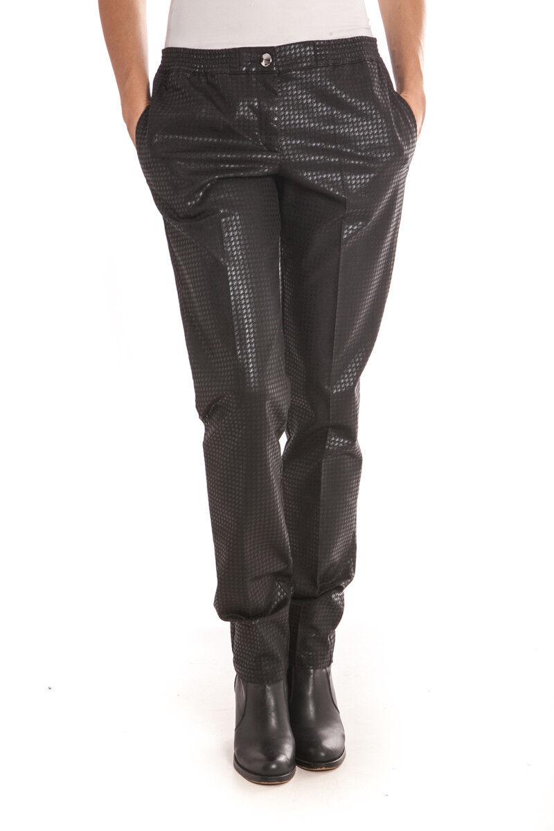 Pantaloni Armani Jeans AJ Jeans Trouser MADE IN ITALY damen schwarz B5P11AP Cam 12