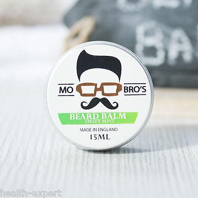 Mo Bro's - Sweet Mint Beard Conditioning Balm 15ml Made In England