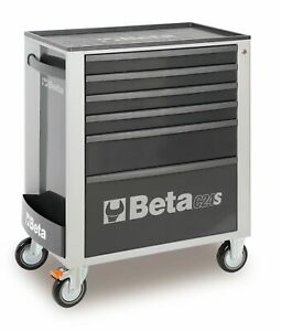 Beta-C24S-6-6-Cajon-Movil-Rodillo-Gabinete-Gris-Karts-Go-Kart-Carrera