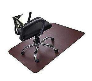 Brown Office Chair Mat For Hardwood Floors Best Desk With 35x47
