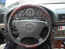 Holzlenkrad Lederlenkrad Mercedes W124 W126 W129 W140 W202 W210 Airbag - Lenkrad
