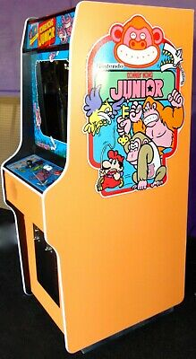 New Donkey Kong Junior Arcade Game Free Game Upgrade Ebay
