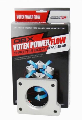 OBX Power Throttle Body Spacer For 1996-01 Chevy and Pontiac L4 2.4L Z24