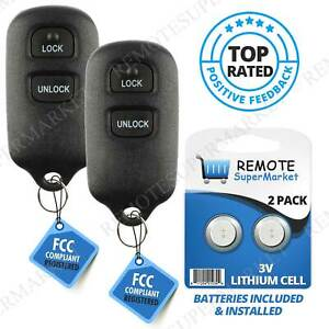 Replacement For 2000 2001 2002 2003 2004 2005 Toyota Celica Echo Key Fob Remote