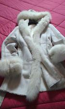 max mara rabbit fox coat Fuchs mantel LAPIN Montone pelliccia cappotto toscana