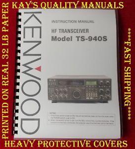 Manual kenwood ts-940s pdf service