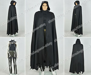 Sword Art Online Death Gun Sterben Mantle SAO Cosplay Costume black