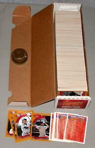 2002-Topps-Series-1-amp-2-Full-Baseball-Card-Set-of-718-Cards