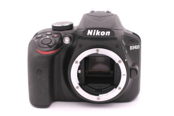 Nikon D3400 24.2mp Caméra Slr Numérique - (corps Seulement) Noir Promouvoir La Santé Et GuéRir Les Maladies