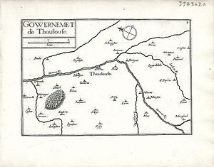 Antique-maps-Gouvernement-de-Thoulouse