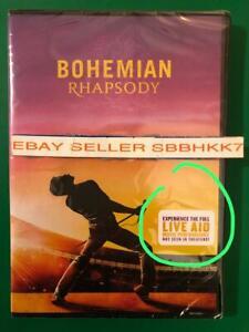 Bohemian-Rhapsody-DVD-AUTHENTIC-DVD-READ-Brand-New-Free-Shipping