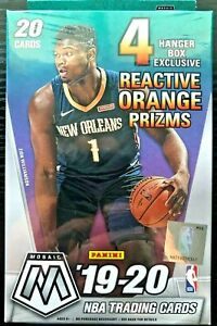 2019-20-Panini-Mosaic-Basketball-Hanger-Box-ZION-WILLIAMSON-JA-MORANT
