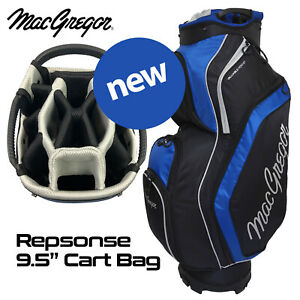 MacGregor-14-WAY-Divider-Response-9-5-039-039-Golf-Cart-Bag-Black-Blue-NEW-2020