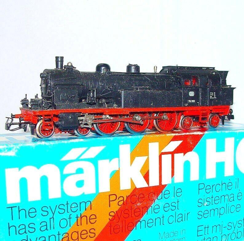 Märklin AC HO 1 87 Tender Locomotora Vapor BR-78 alemán Dragonball 4-6-4 casi nuevo y sin usar en caja' 80 Nice
