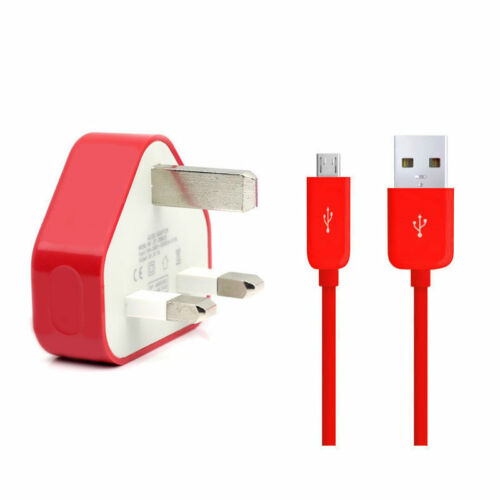 Micro USB Data SYNC Lead Cable For Sony Xperia Z Z1 Z2 Fast Mains Charger Plug