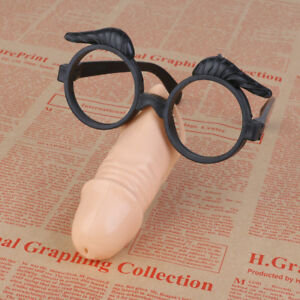 4pcs Joke Toys Male Willy Nose /& Eye Glasses Fancy Dress Hens Night Party Do