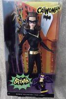 Pink Label Batman Classic Tv Series Catwoman Barbie Doll