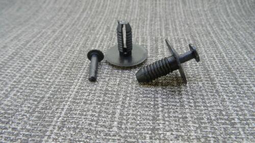 GRILL MUD//SPLASH GUARD /& SIDE SKIRT PANEL PUSH-IN CLIPS CHRYSLER BUMPER