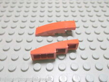 Lego 2 Bogensteine 4x1 dunkelorange 61678 Set 9491 7959 10213 10231
