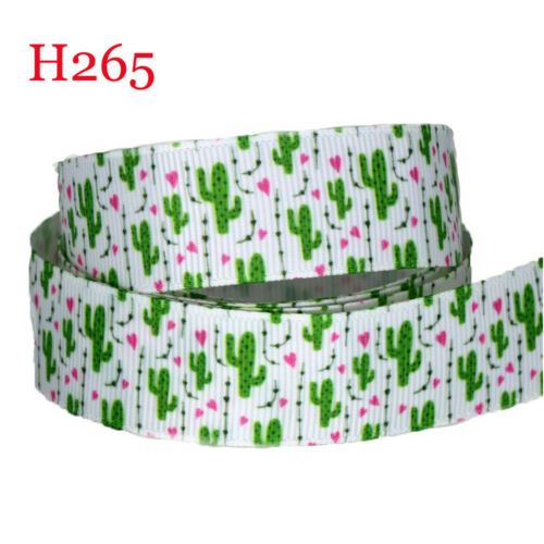"5//10Yds 22mm-7//8/""  Printed Grosgrain Ribbon Wholesale Wedding Gift Wrap Ribbon"