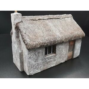 Decor-diorama-fermette-avec-cheminee-pour-figurines-54-60mm-pour-KING-amp-COUNTRY