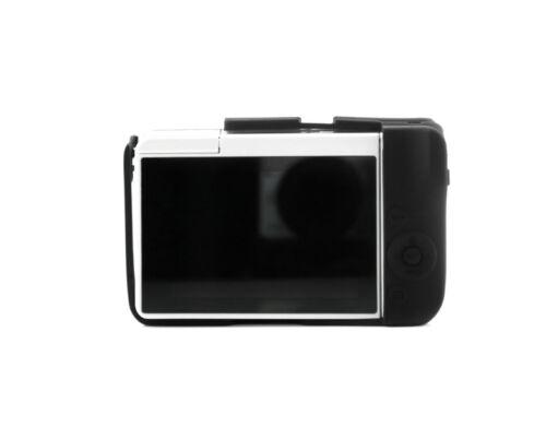 Silikon Tasche Etui für Canon EOS M10 Kameratasche schwarz CC1735a