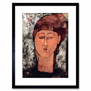 Painting-Modigliani-Enfant-Gras-Old-Master-Framed-Picture-Art-Print-9x7-Inch