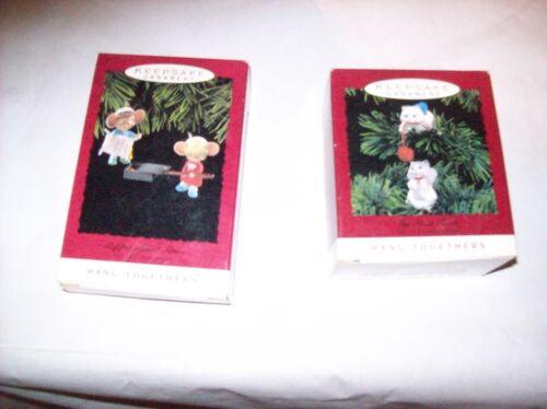 HALLMARK KEEPSAKE CHRISTMAS ORNAMENT HANG TOGETHER COLLECTION MULTI YEARS AVAIL