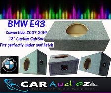 BMW E93 Kabrio Maßgefertigt Gebaut 30.5cm Sub Bass Box Gehäuse für Subwoofer NEU