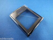Original Nokia 8800 Sirocco Silber Oberschale Front A Cover Display Glas Schale