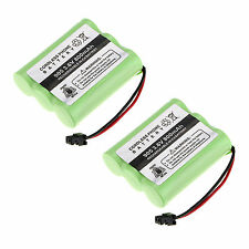 2Pcs 3.6V 800mAh NI-CD Phone Battery for Panasonic KX-A36 P-P501 Uniden BT-905