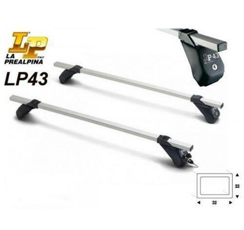 ROOF BARS LP43 PREALPINA NISSAN VANETTE PRATIC FROM 1998