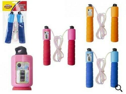 Kids Skipping Rope With Counter Children Exercise Jumping Game Fitness Gym New