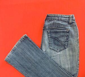 CHICO-S-Platinum-Bootcut-Denim-Blue-Jeans-Size-1-M-8