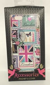 info for 1a63a 3698a Details about Accessorize Case for Apple iPhone 6/6s Clip On Cover Love  London