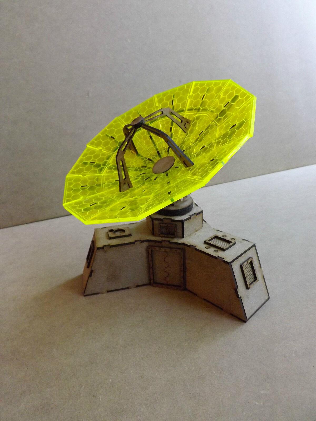 Satallite Dish LED warhammer 40k wargame infinity building terrain scenary