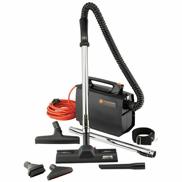 Hoover CH30000 Black/Orange Canister Vacuum Cleaner