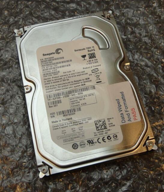 "160GB Dell JP208 Seagate ST3160815AS 9CY132-037 3.5"" SATA Hard Drive HDD (P02)"