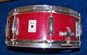 """Années 1960 Star (pré Tama) 5"""" X 14"""" Bois Shell Snare Drum Made In Japon Nice!!!-afficher Le Titre D'origine Gagner Une Grande Admiration Et On Fait Largement Confiance à La Maison Et à L'éTranger."""