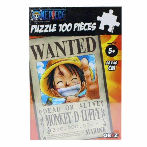 Puzzle Wanted Luffy Neuf New One Piece 100tlg
