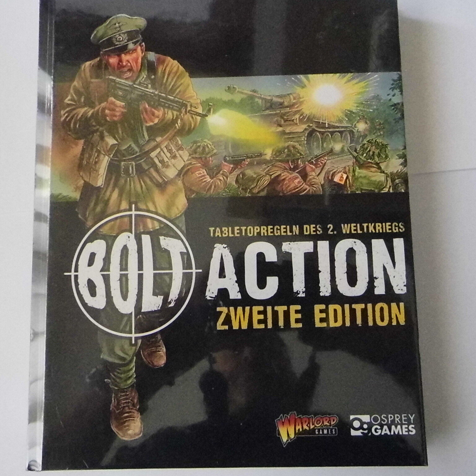 BOLT ACTION WORLD WAR II ZWEITE EDITION (GERMAN TEXT) - WARLORD GAMES