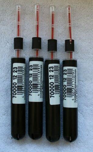 4 Stück 12cm Hydrokultur Wasserstandsanzeiger Hydrokulturen Braun