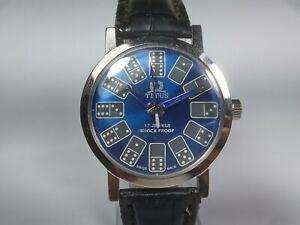 Vintage-Titus-Mechanical-Hand-Winding-Movement-Mens-Dial-Wrist-Watch-C9