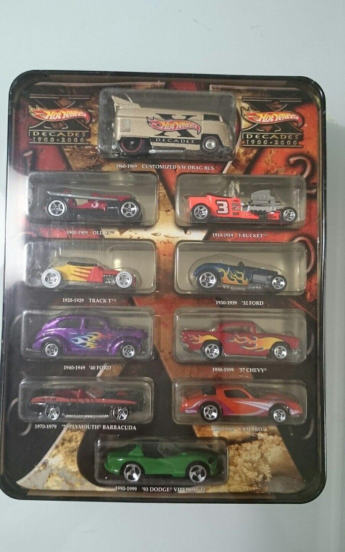 varm HJULER DECADE 1900 -2000 VW DRAG buss, CAMARO, VIPER, 57 CHEFY, BARRAGUDA