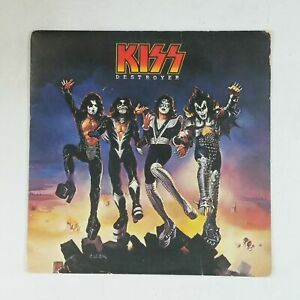 KISS-Destroyer-NBLP7025-R124001-LP-Vinyl-VG-Cover-VG-Club-Edition-Desert-Label