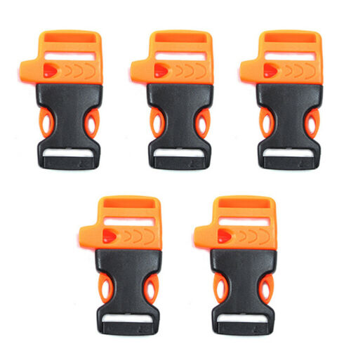 5pcs Emergency Outdoor Survival Release Contoured Camping Backpack Buckle
