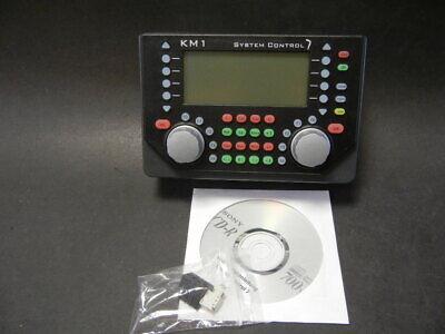 Km 1 Art. 430000 System Control 7 Con Alimentatore, 7 Ampere - 180 Va Nuovo Ovp-mostra Il Titolo Originale